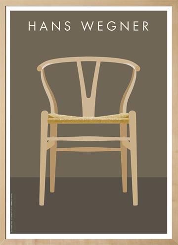 unikke designer plakater til dit nye hjem jacobsen wegner k b online organicliving. Black Bedroom Furniture Sets. Home Design Ideas